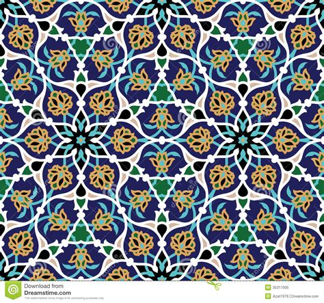 arab traditional pattern safar seamless pattern two royalty free stock photo