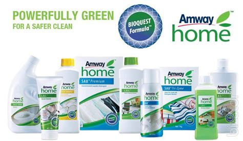 amway cleaning products in the home care company amway