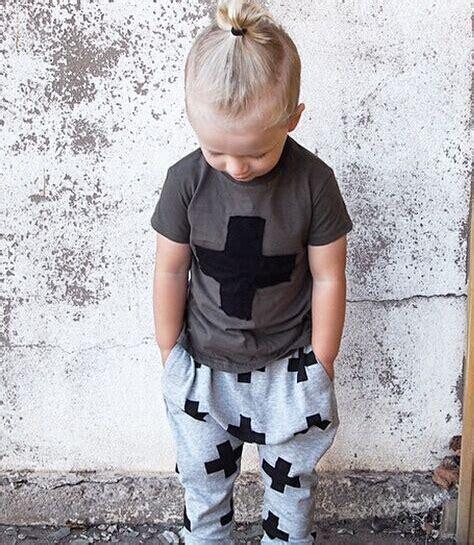 Celana Anak Harem 2015 anak anak bayi busana musim panas t shirt celana