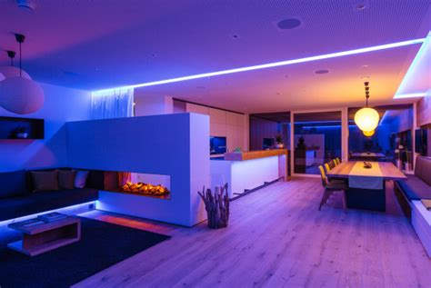 led home lighting home decoration with led lighting strips virily