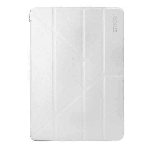 3 Fold Flip Leather Pro 10 5 Gold enkay for pro 10 5 inch silk texture plastic bottom