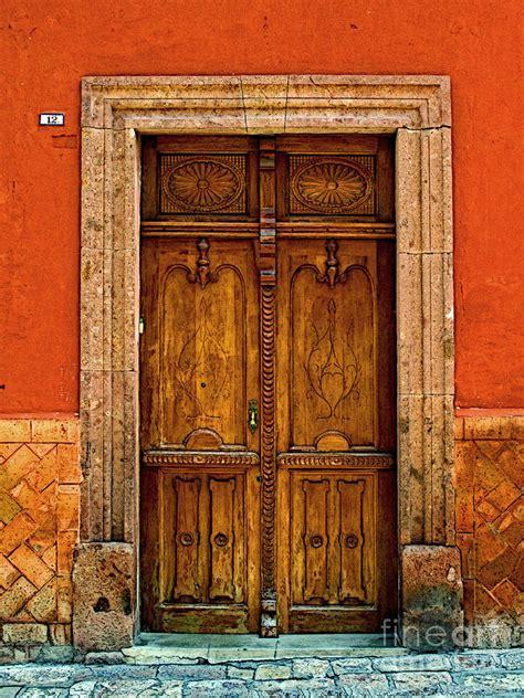Mexican Door by Door In Terracotta By Olden Mexico
