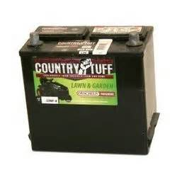 country tuff lawn tractor 12 month battery