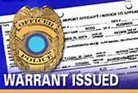 outstanding arrest bench warrants updated december 5 kxmx local news arrest warrant issued for local doctor