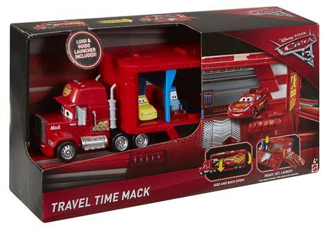 Disney Pixar Cars 3 Travel Time Mack Transporter Playset Dxy87 disney pixar cars 3 travel time mack playset