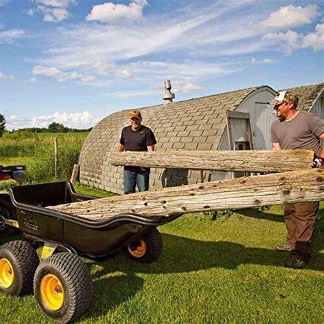 polar trailer tandem axle utility cart insteading