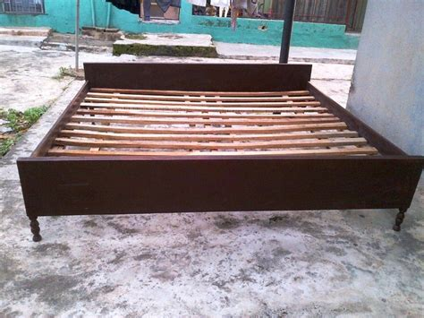 used bed frames for sale a fairly used 6x7 ft bed frame for sale at ojodu berger