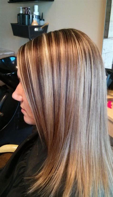 highligjted mahogany hair www facebook com ericapstylist mahogany lowlights sliced