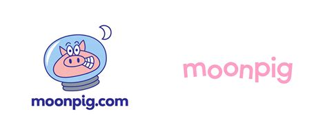 Moonpig Gift Cards - new moonpig logo and identity logo design love