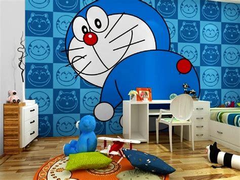 wallpaper doraemon untuk kamar 7 gambar wallpaper dinding kamar tidur anak motif doraemon