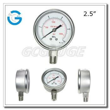 Pressure Manometer Rockwell 2 5 Inchi high quality 2 5inch 60mm all stainless steel analog manometer with bottm fitting buy analog