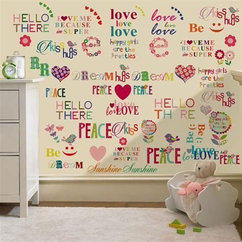 childrens wall decor stickers childrens themed wall decor room stickers sets