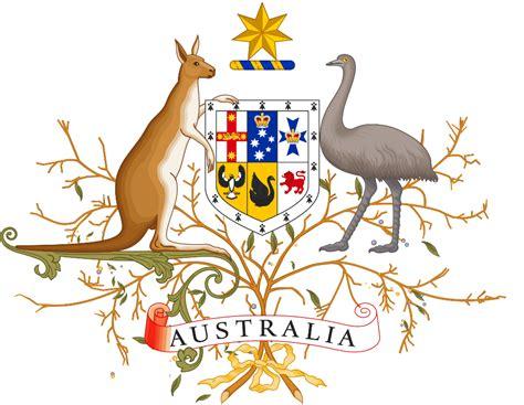 オーストラリアの国章 アート用語 by artue