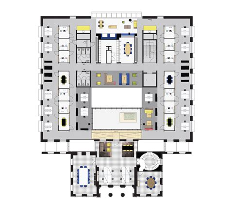 municipal hall floor plan gallery of town hall bloemendaal next architects 14