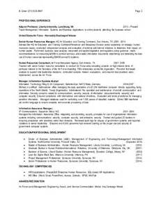 Sle Human Resource Manager Resume by Human Resource Manager Resume