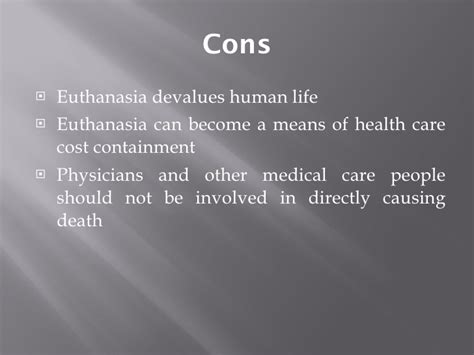 low cost euthanasia euthanasia powerpoint