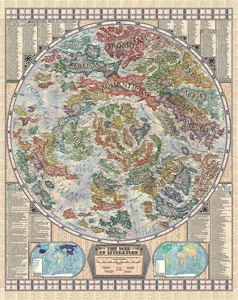libro vargics miscellany of curious la bellissima mappa della letteratura di martin vargic kippleblog