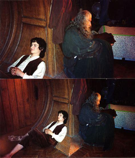 fotos lord of the rings behind scenes ian mckellen
