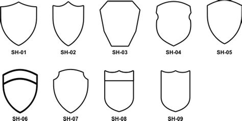 shield patch template designing your embroidered patches
