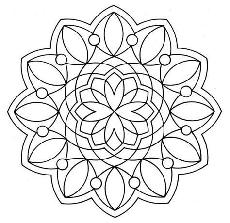 mandalas coloring part 3