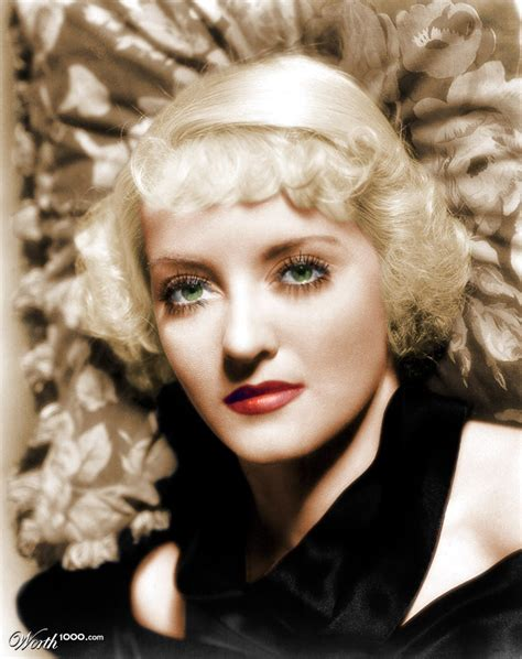 betty davies dazzling divas photo portret bette davis
