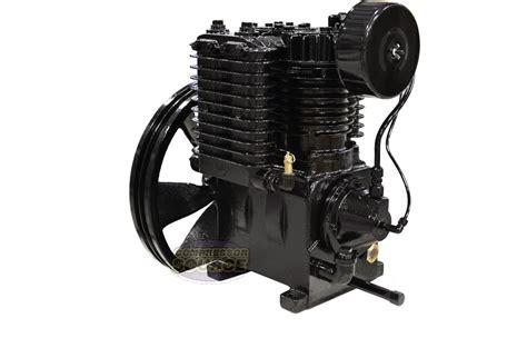 new 5 horsepower cast iron 2 stage air compressor ebay