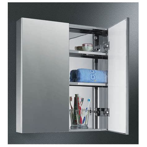 Medicine Cabinet Magnetic Closure by Stainless Steel Dual Door Medicine Cabinet Dd2326 Dd1926