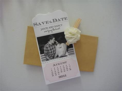 Handmade Save The Date - diy save the date weddingbee