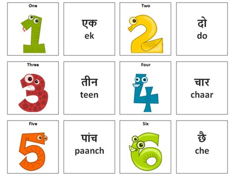 printable numbers in hindi numbers hindi vocabulary card sort by ineedtoteachthat