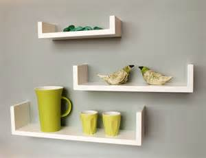weisse regale white small floating shelves on white wall design