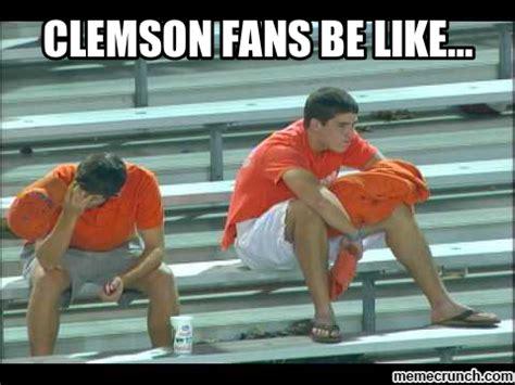 Clemson Memes - clemson fans