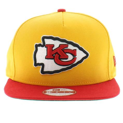 kc colors kansas city chiefs team flip 2 snapback craniumfitteds