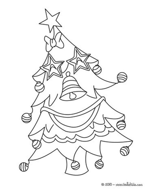 christmas tree s garlands coloring pages hellokids com