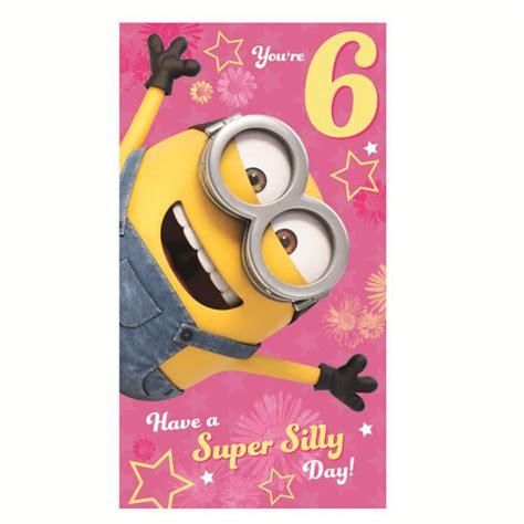 6 Birthday Card