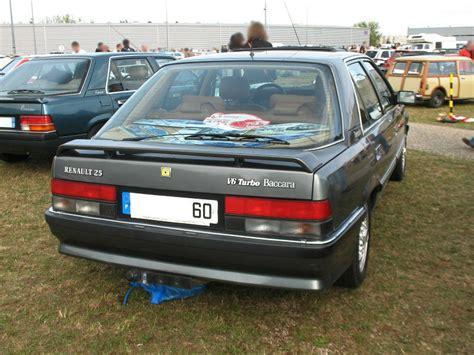 renault 25 baccara renault 25 baccara v6 turbo 1990 1992 autos crois 233 es