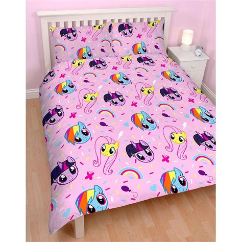 my little pony bedding my little pony equestria double duvet cover set kids