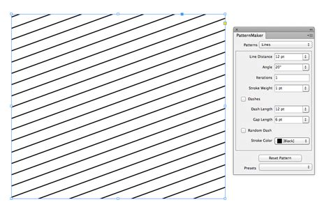 Line Pattern Fill Indesign | document geek how to make an argyle pattern in indesign