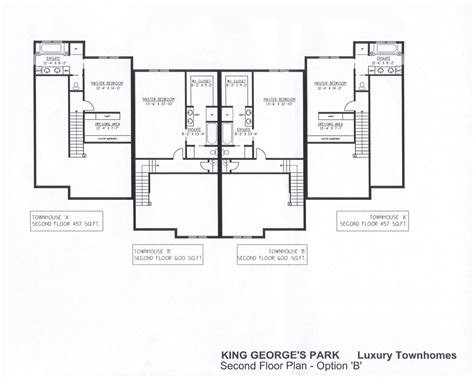 luxury townhome floor plans king george s park luxury townhomes