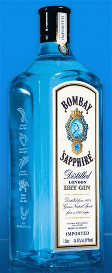 Top Shelf Gins by 4bartenders And Social Chemists Bombay Sapphire Gin