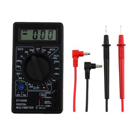 Multitester Avo digital multimeter ohm voltmeter ammeter avo meter dt 830b lcd ac dc voltmeter ohmmeter