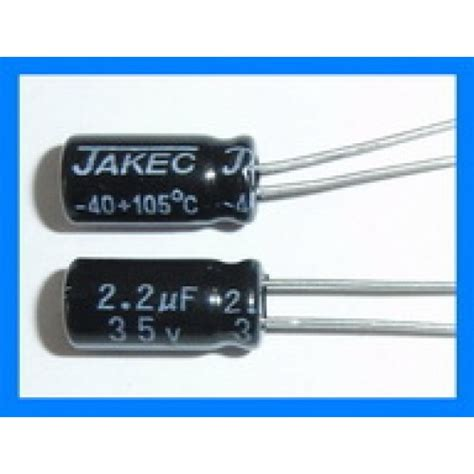 electrolytic capacitor getting 2 2uf 35v 105c radial electrolytic capacitor 5x11mm