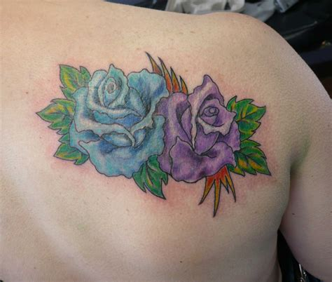 rose tattoo coverup purple cover up www pixshark images