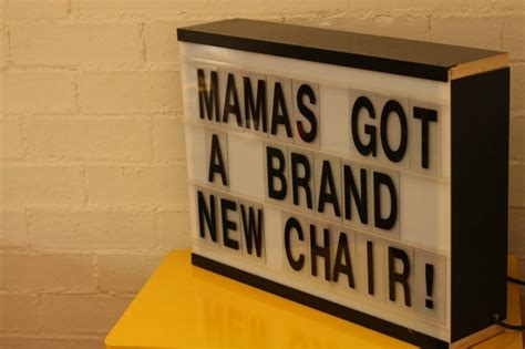 Mamas Got A Brand New Shag by S Got A Brand New Chair Babymac