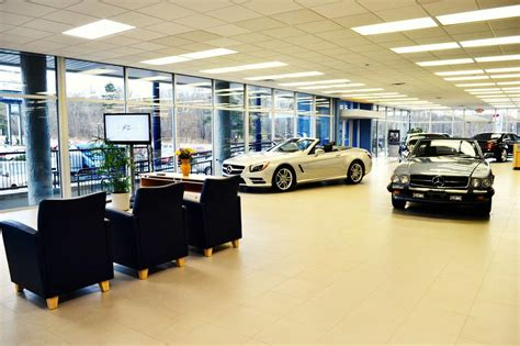 mercedes showroom interior pictures for skyland automotive in asheville nc 28806
