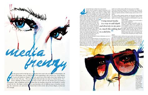 pdc media magazine layout research photographic 6 best images of cool magazine layouts ben arogundade