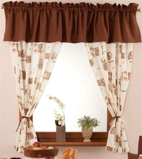Coffee Print Kitchen Curtains 5 Best Coffee Decoration For Kitchen Plans You Can Easily Follow Decolover Net