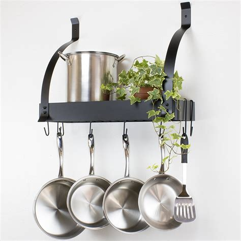 hanging pot rack in cabinet shelf to hang pots and pans 28 images wooden hanging