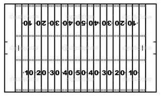 blank football field template photos of football field template printable football