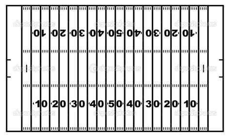 photos of football field template printable football