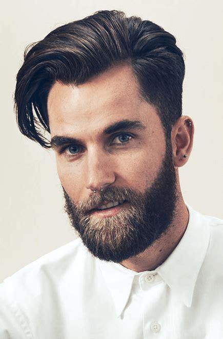 frisuren maenner hohe stirn mens fashion vollbart
